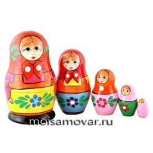 Матрешка Загорская 5 мест Арт.3503