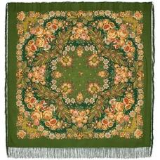 Признание 146 x 146 см Павлопосадский платок