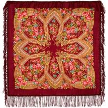 Вечерок 89 x 89 см Павлопосадский платок
