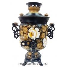 Cамовар электрический  3 л Сказочные цветы арт.1124-5
