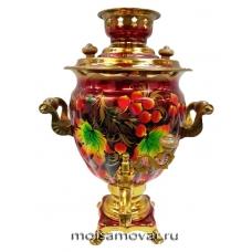 Cамовар электрический  3 л Сказочные цветы арт.1109