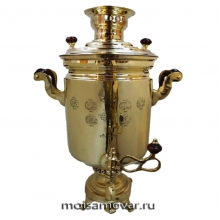Самовар антикварный Фабрика Баташева 10 литров