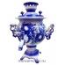 Самовар электрический расписной 3 Гжель арт.1143-2