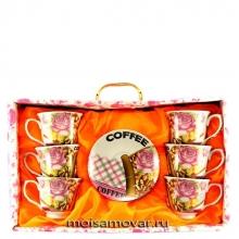 Кофейный набор на 6 персон Арт.1064