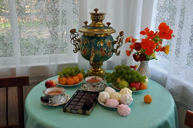 Картинки с самоваром и чаем